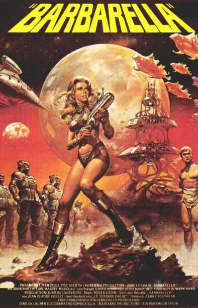 Barbarella: Queen of the Galaxy Poster