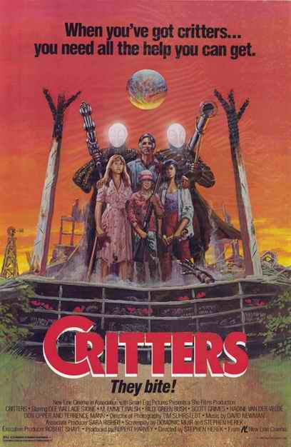 Critters poster II