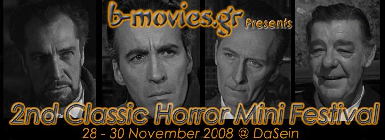 2nd Classic Horror Mini Festival @ Dasein