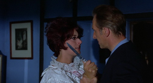 Corruption (1968) - Sue Lloyd, Peter Cushing