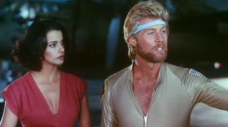 Megaforce (1982) - Persis Khambatta, Barry Bostwick