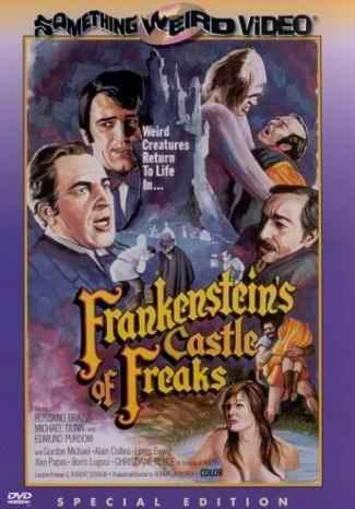 FRANKENSTEIN�S CASTLE OF FREAKS